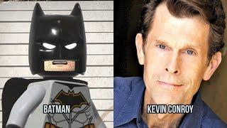 Characters and Voice Actors - Lego DC Super-Villains