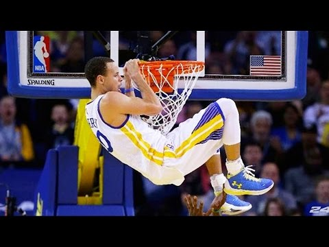 Best Stephen Curry Dunks Ultimate Compilation of 2016-2017 ᴴᴰ