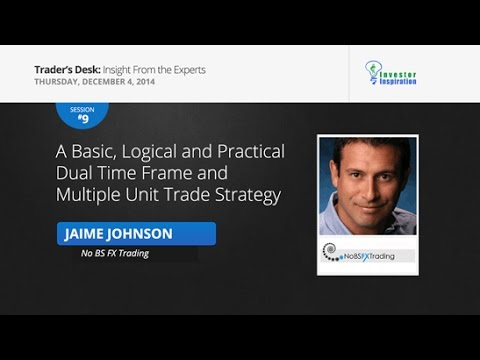 A Basic, Logical and Practical Dual Time Frame and Multiple Unit Trade Strategy | Jaime Johnson