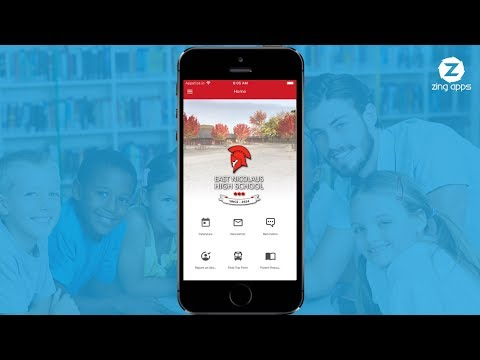 East Nicolaus High School App