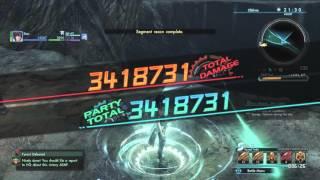 Xenoblade Chronicles X - Hartmut, the Calamity On Foot Solo (Dual Guns/Photon Saber)
