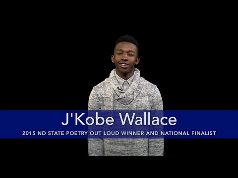 "J'Kobe Wallace reads ""I Wandered Lonely As A Cloud"""