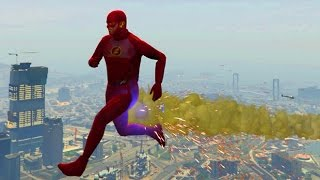 GTA 5 THE FLASH SUPERHERO MOD!
