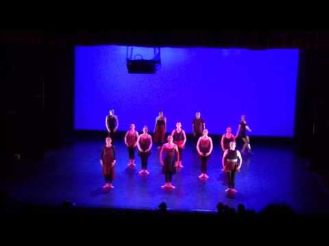 KNT Danceworks Intermediate Ballet Piece - The Dancehouse Theatre Evening Class Show 13th May 2017