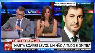 #Rapaziada1906 - Bruno de Carvalho em direto e Marta Soares responde-lhe em direto - 8 junho 2018