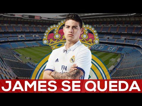 James Rodriguez SE QUEDA EN EL REAL MADRID |REACCIÓN