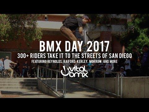 300+ BMX Riders Take It to the San Diego Streets - BMX Day 2017