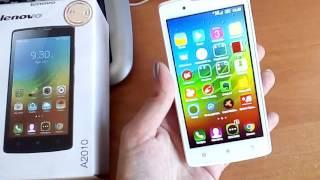 Lenovo A2010 4G LTE Android 5.1 Lollipop Обзор смартфона