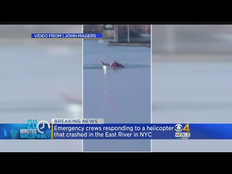 Helicopter Crash Reported In New York City