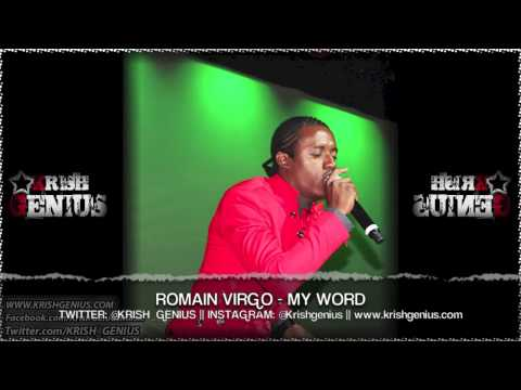 Romain Virgo - My Word [Cardiac Keys Riddim] May 2013