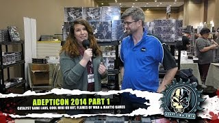AdeptiCon 2014 Part 1: Catalyst, Cool Mini Or Not, FoW & Mantic