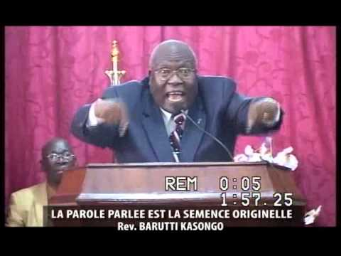 Pst Barutti, LA PAROLE PARLEE EST LA SEMENCE ORIGINELLE, DIMANCHE 2 FEVRIER 2014, GEMENA