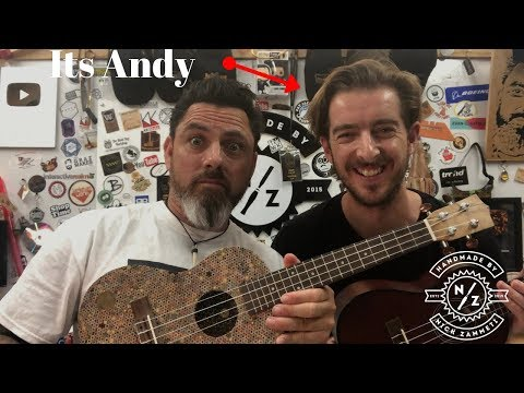 Andy Guitar Came to See My Pencil UKULELE
