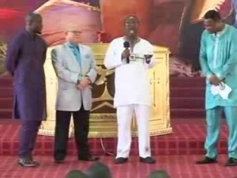 Apostle General Sam Korankye Ankrah Prays for Ghana Black Stars & Kwesi Nyantakyi-President (GFA)