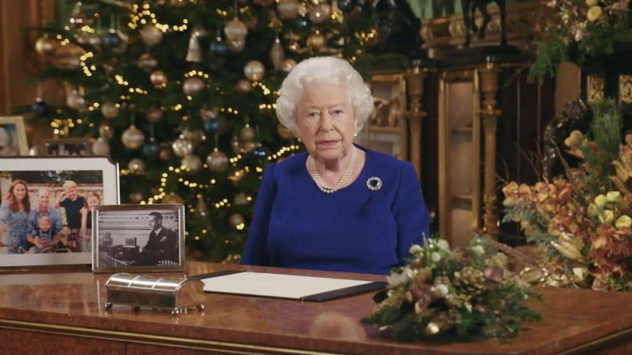 Queen Speech Christmas 2020 Queen's Speech: Queen praises 'sense of purpose' among young
