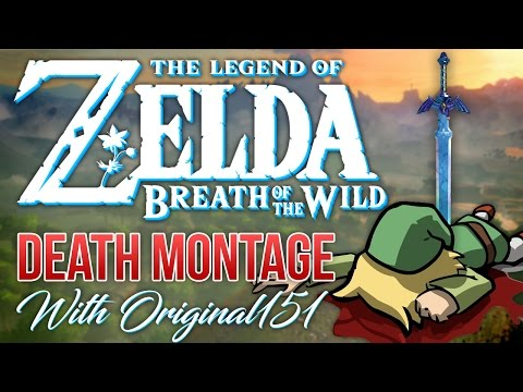 ZELDA BREATH OF THE WILD DEATH MONTAGE / HIGHLIGHT VIDEO [HILARIOUS!!]