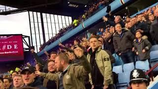 Swfc fans at Villa 2017