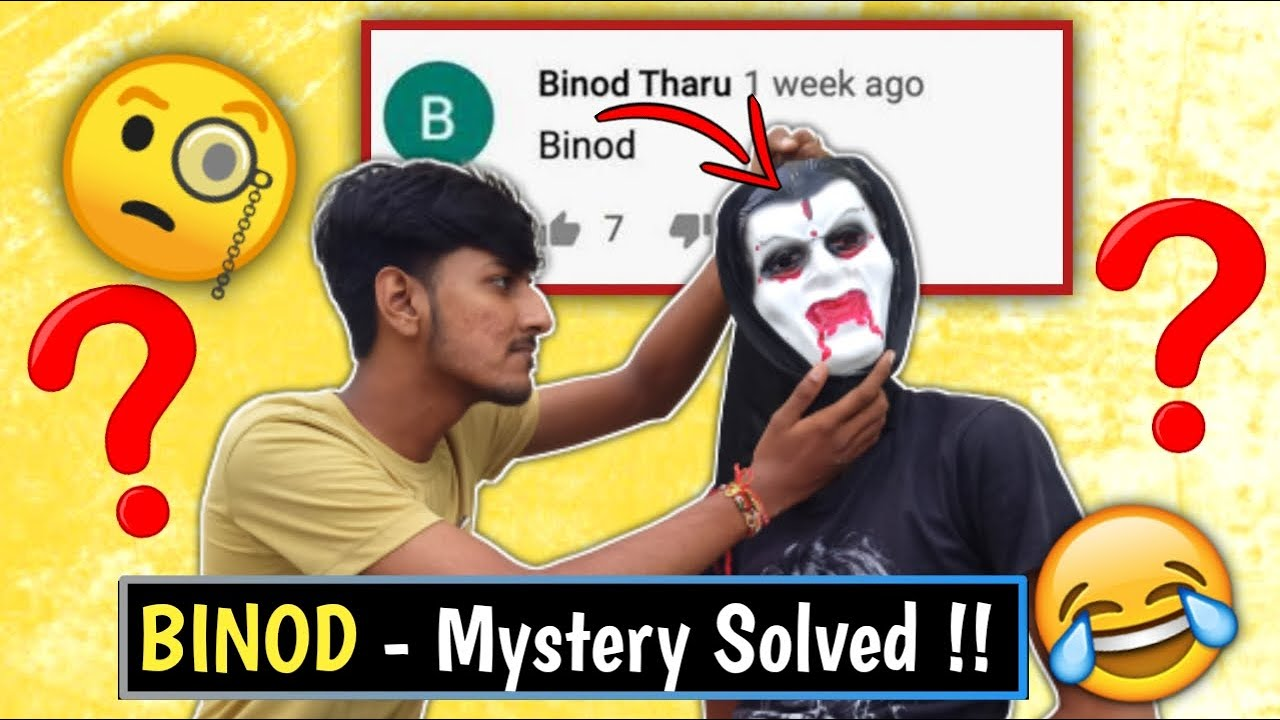 Who Is BINOD? THE MYSTERY SOLVED!! ft. @Slayy Point