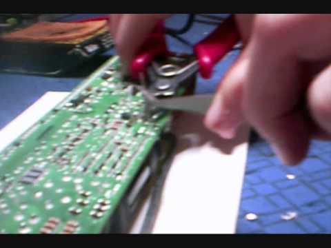 Eine kleine Netzteil reparatur - YouTube