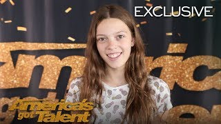 Courtney Hadwin Thanks Howie Mandel For Believing In Her - America