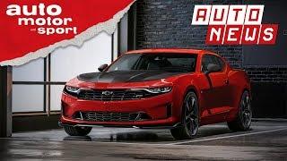 Chevrolet Camaro (2018): Facelift für das Pony-Car - NEWS   auto motor und sport