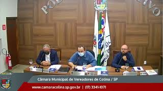 Câmara Municipal de Colina - 5ª Sessão Extraordinária 07/04/2021