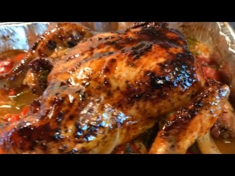 How to make a Honey Bbq Glazed Oven Roasted Chicken