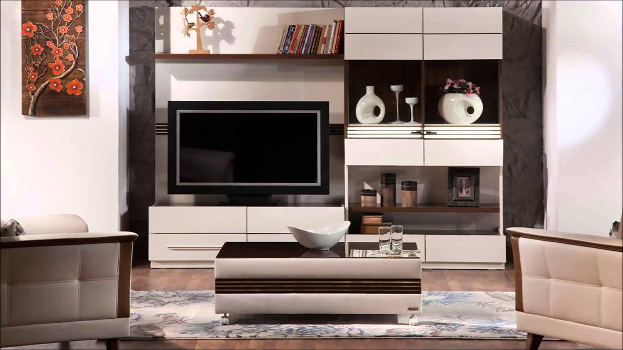 Modern yeni tv unite modelleri 7 - 2014 Stikbal Tv Ve Duvar Niteleri Plazma Ve Lcd Sehpalar Youtube