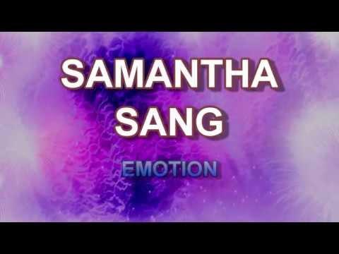 Emotion + Samantha Sang + Lyrics/HD