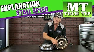 Stall Speed explained in Curt's Corner