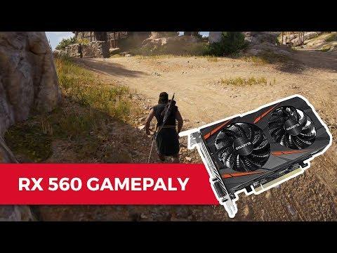 Assassin's Creed Odyssey Gameplay - AMD Radeon RX 560 |
