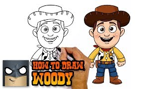 How to Draw Woody | Toy Story| Awesome Step-by-Step Tutorial