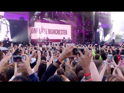 Black Eyed Peas & Ariana Grande - Where Is The Love - ONE LOVE MANCHESTER (HQ)