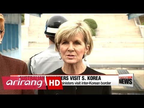 Australian foreign, defense ministers emphasize maximum pressure on N. Korea at ..