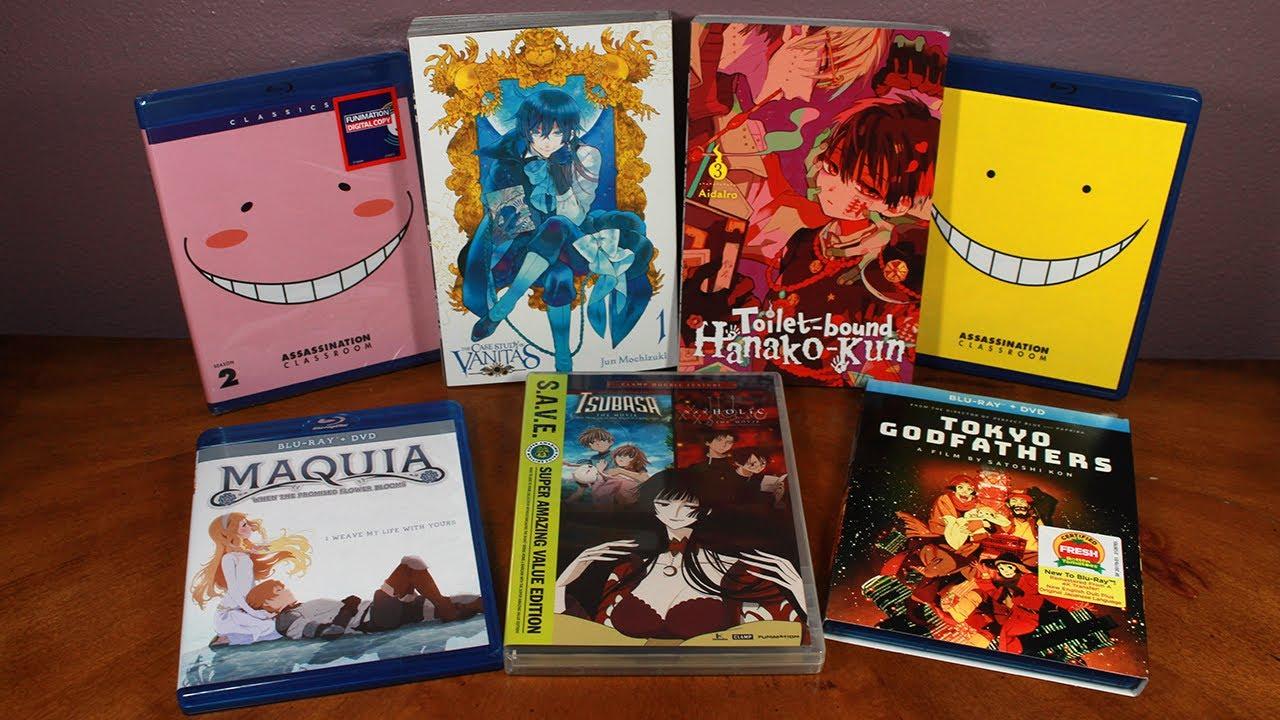 Rightstuf Anime/Manga Package Unboxing | Anime Haul #13