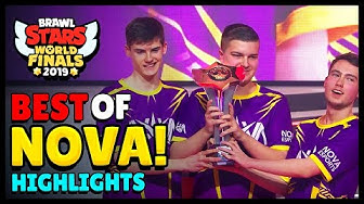 BEST of NOVA Esports | Brawl Stars World Finals Highlights - Part 1