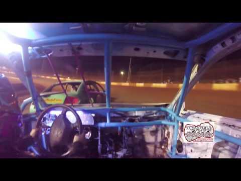 Melissa Dempsey In-Car Dixie Speedway 6/3/17!