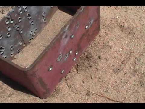 .223 penetration in plate steel