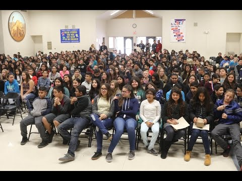 the Mira Loma Middle School  EIGHTH Grade Talent Show