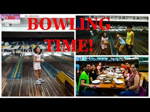 BOWLING TIME AT GOLDENFIELD BOWLING ALLEY