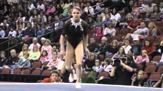 Dariya Zgoba - Floor Exercise - 2007 Tyson American Cup