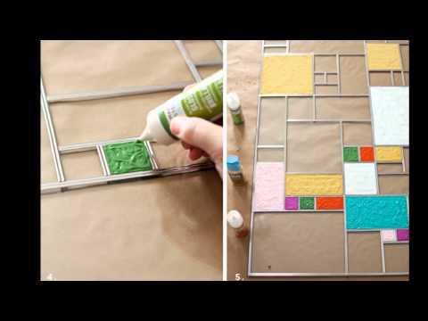 видео: Декор окна своими руками. Декор на кухне   ๏̯͡๏  do it yourself ๏̯͡๏  