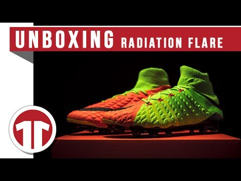 Nike Hypervenom Phantom 3 DF FG Radiation Flare - Green/Lilla/Orange Dame