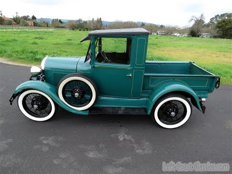 1930 ford model a pickup for sale in sonoma wine country youtube. Black Bedroom Furniture Sets. Home Design Ideas