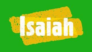 07-25-21 SERMON Isaiah