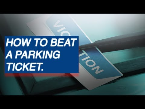 HOW TO BEAT A PARKING TICKET