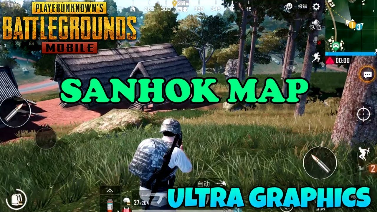 Pubg Mobile Ultra Hd Yapma Ios: SANHOK MAP ( 0.8.6) ULTRA GRAPHICS GAMEPLAY