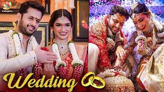 Full Video: Nithin And Shalini Marriage | Pawan Kalyan, Rang De, Bheeshma Telugu Movies | Tamil News