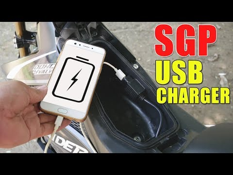 How To Install SGP USB Charger on Raider 150 Fi