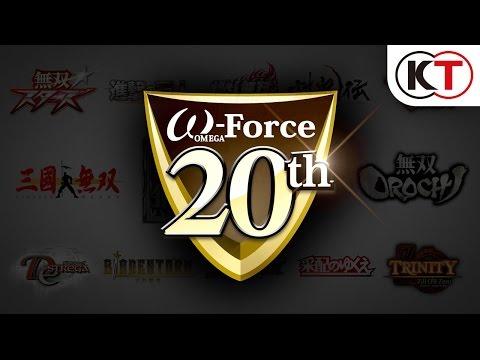 ω-Force(オメガフォース)20周年記念ムービー